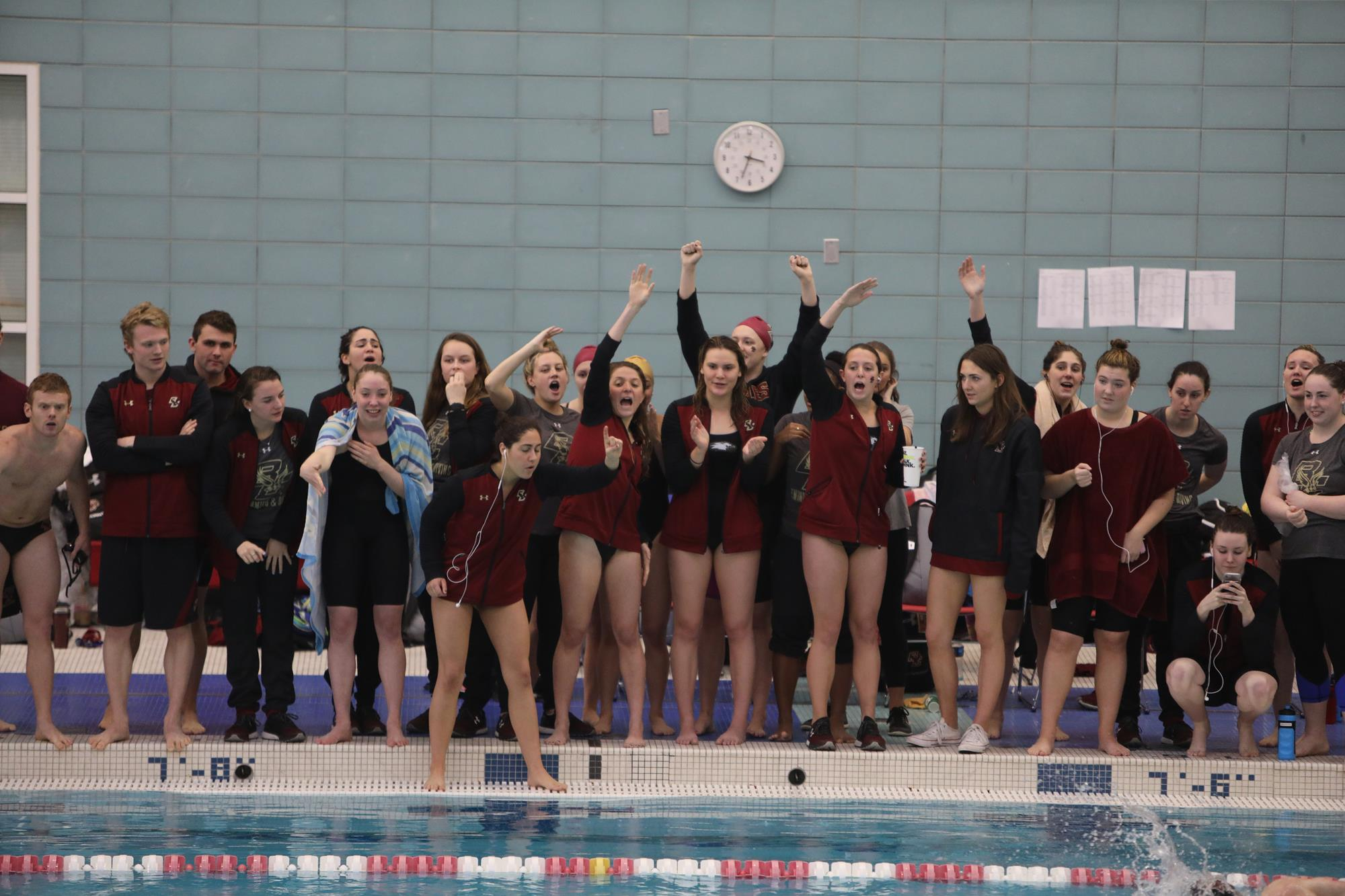 Boston College Eagles Womens College Swim & Dive - Boston College News, Scores, and Stats