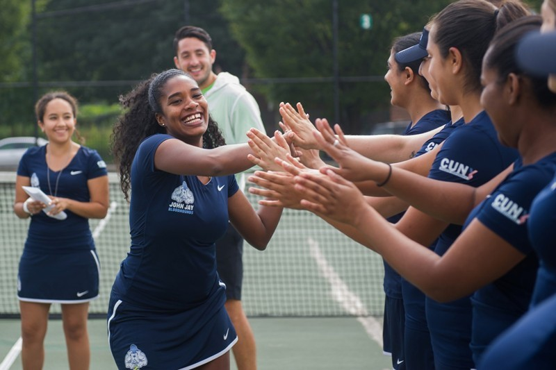 John jay bloodhounds womens college tennis john jay news scores and stats for John jay college swimming pool