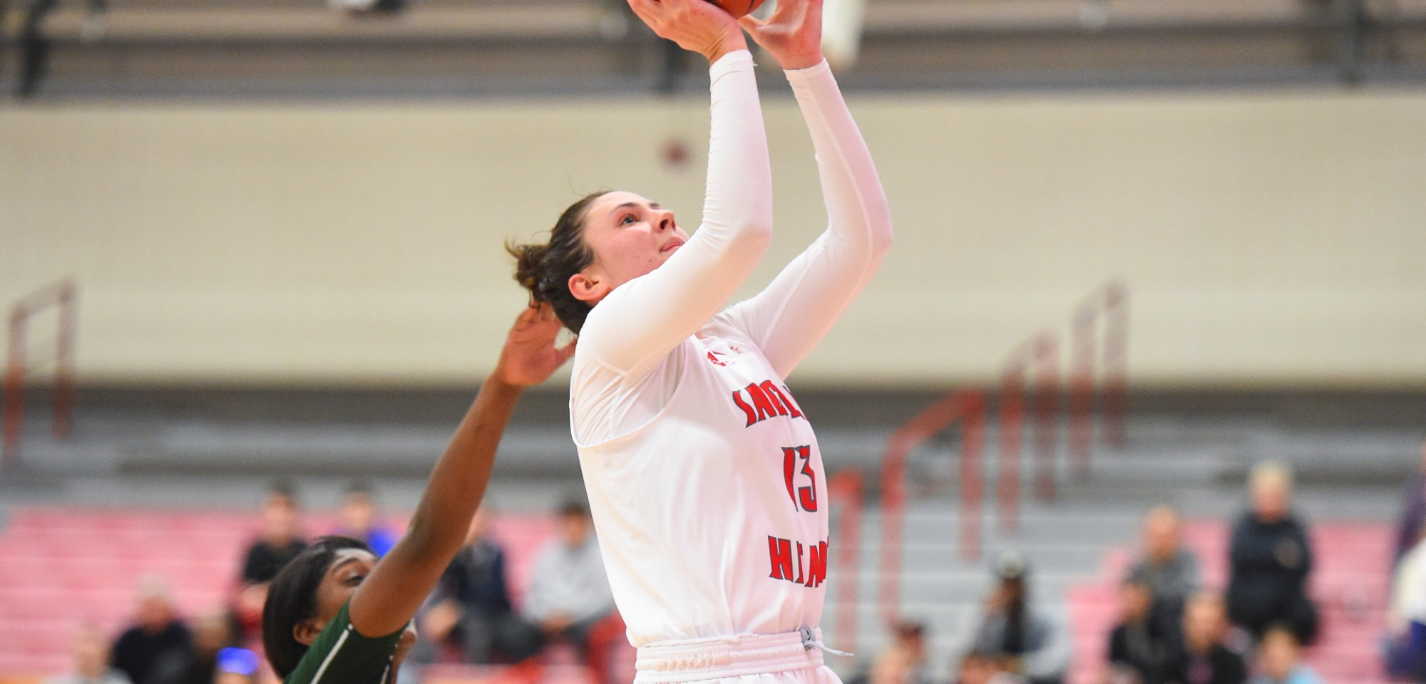 sacred heart women March 8, 2018 loretto, pa – the no 4 sacred heart university women's basketball team (14-17) was overpowered by top-seeded saint francis u (23-9).