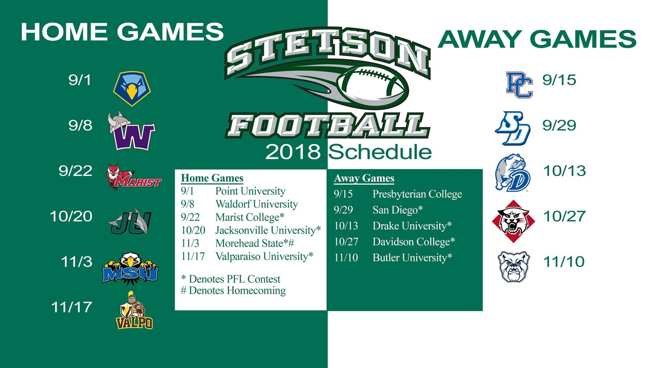 Stetson Hatters   2017 Schedule, Stats & Latest News | HERO Sports