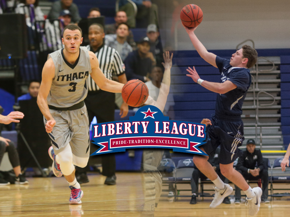Ithaca bombers mens basketball 2018 schedule stats team leaders chasin thompson named liberty league all conference publicscrutiny Choice Image