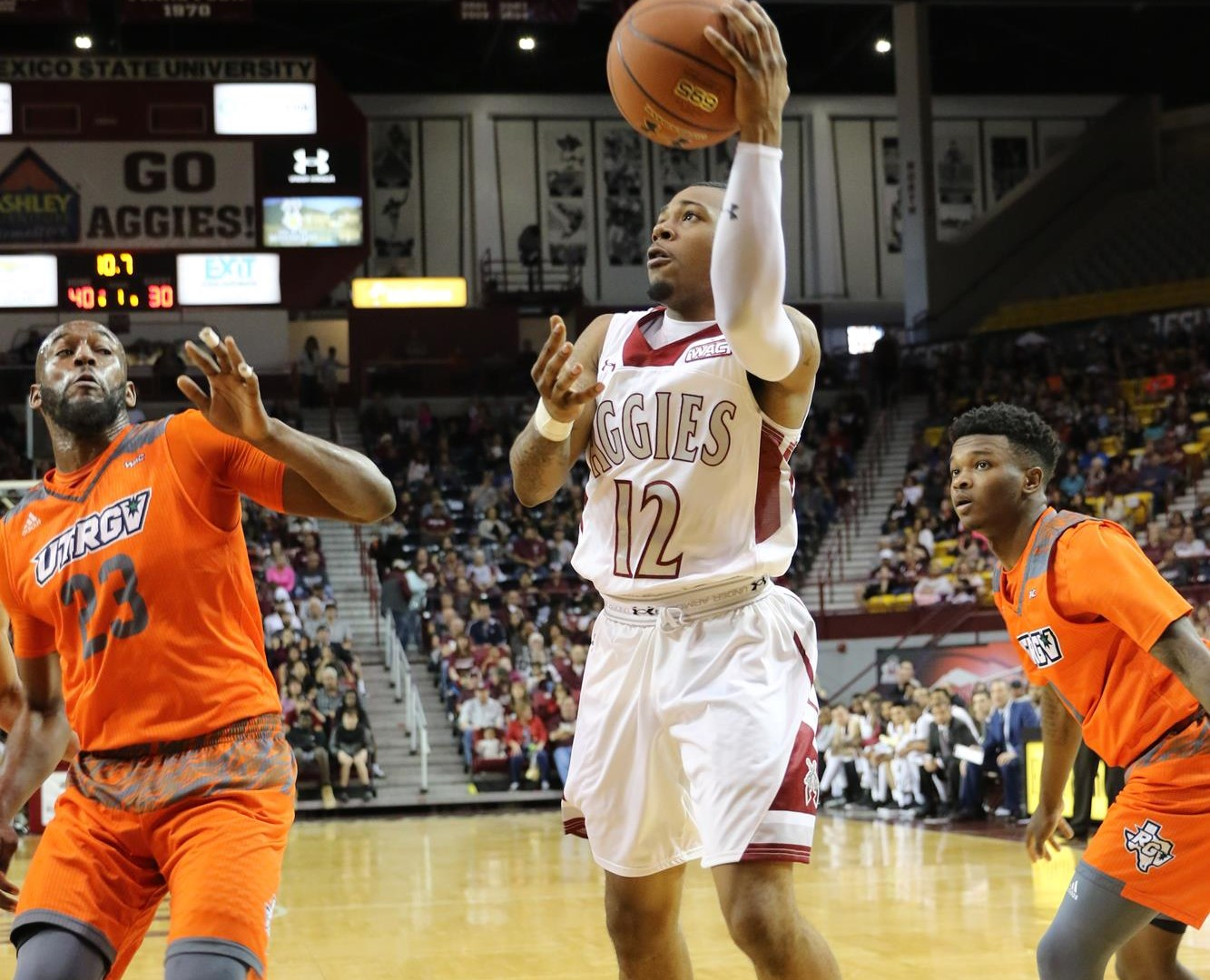 New Mexico State Aggies men's Basketball- 2018 Schedule, Stats, Team Leaders & News   HERO Sports