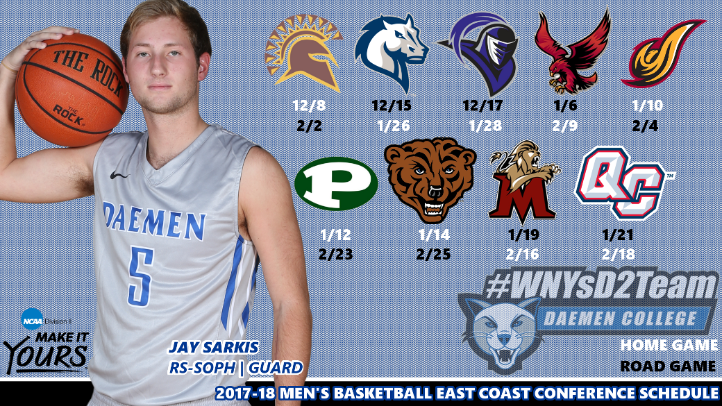 Men's Basketball Conference Schedule Announced - HERO Sports