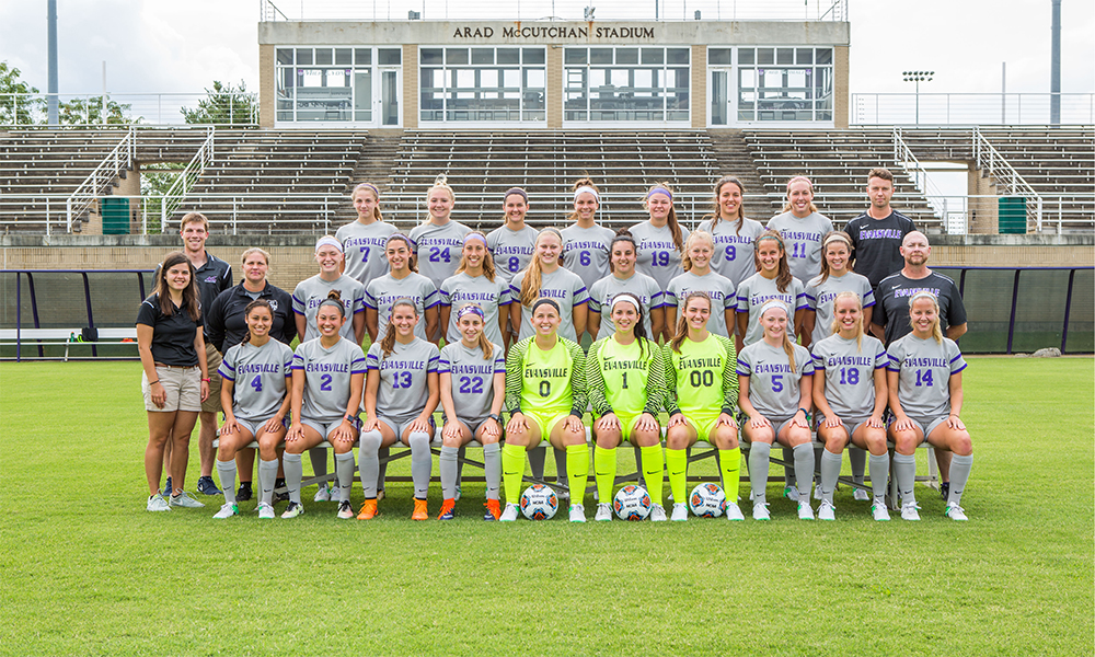 Evansville Purple Aces Womens College Soccer - Evansville News, Scores, and Stats
