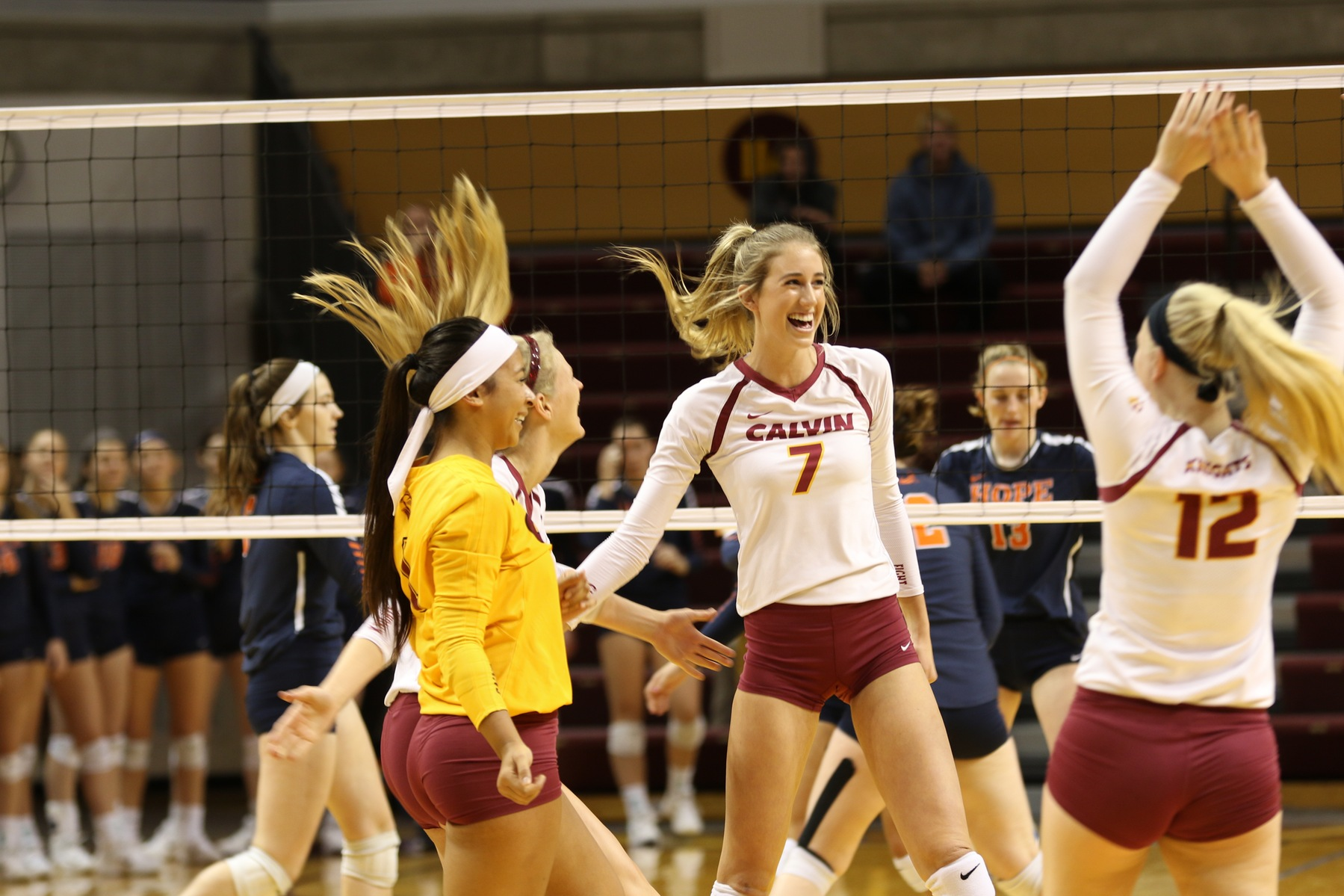 calvin college volleyball Event date/time available miaa crossover tournament at calvin college volleyball: fri, sep 7 2018 at 3:00 pm: buy tickets: miaa crossover tournament at calvin.