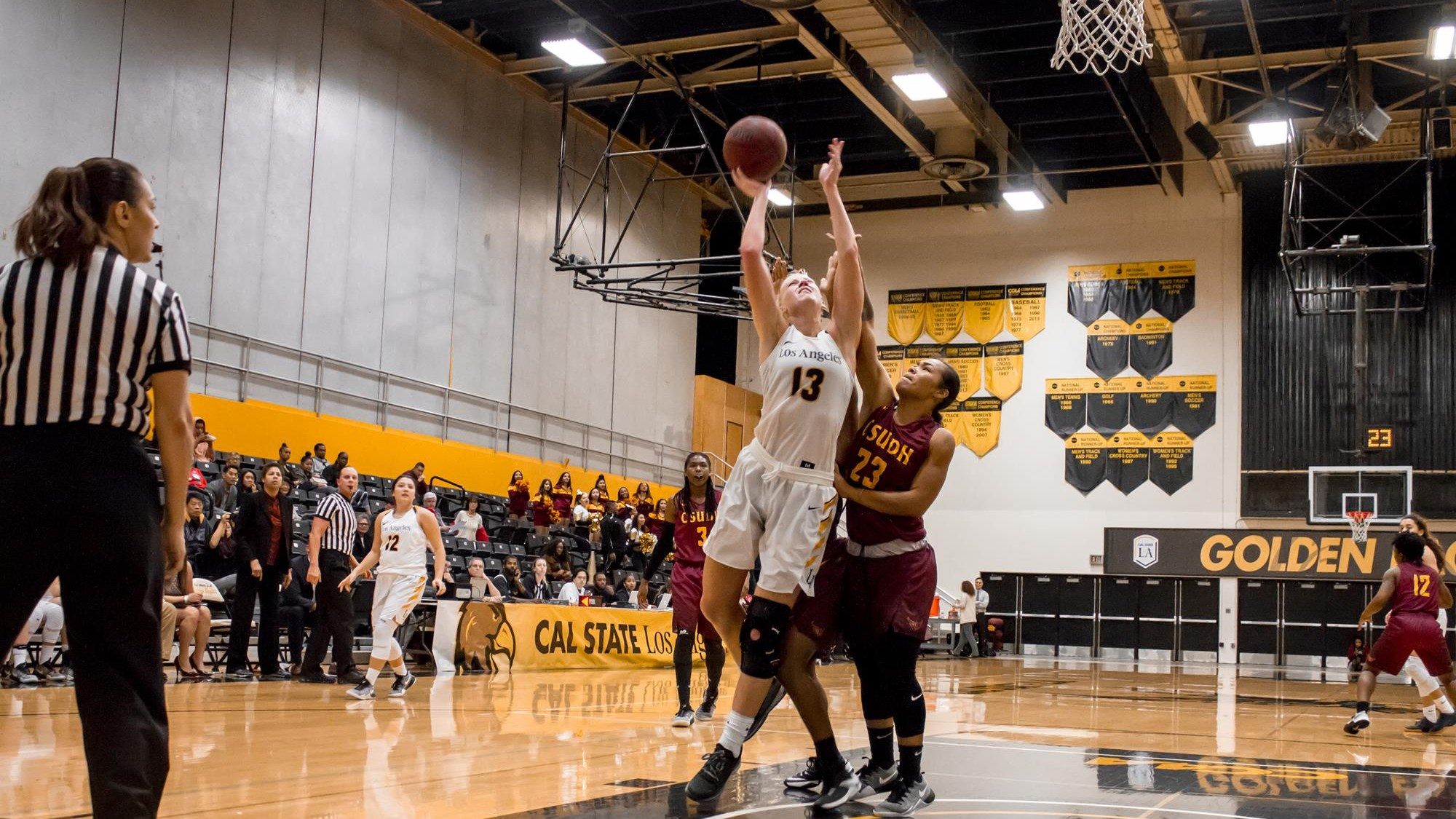 Cal State Los Angeles Defeats Men's Basketball 82-66 ...